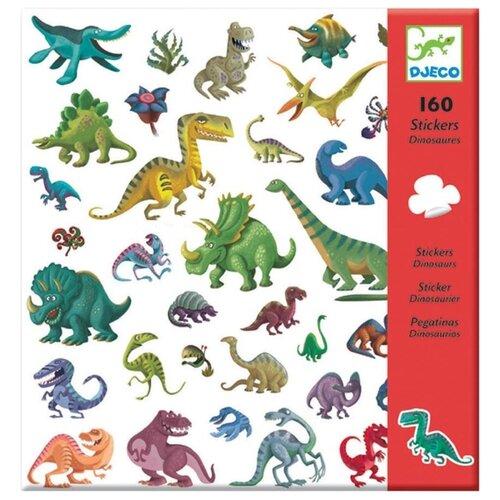 Купить DJECO Наклейки Динозавры, 160 шт. (08843)