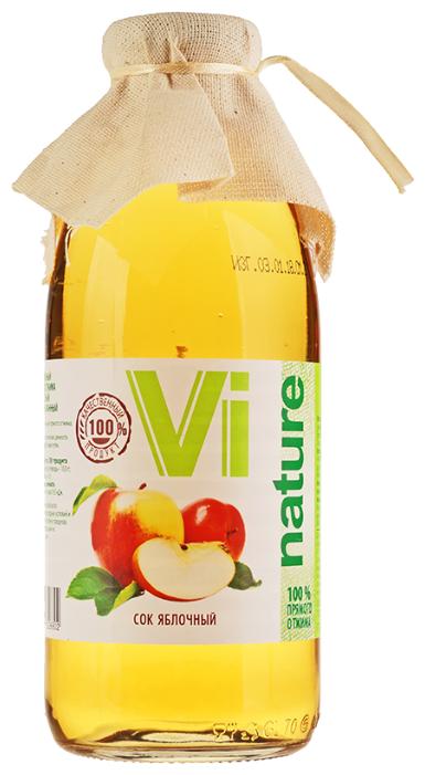 Сок Vi Nature яблочный, 0.73 л