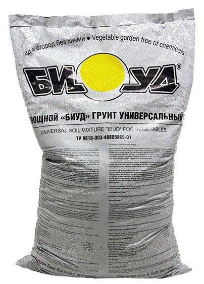Грунт БИУД овощной универсальный 20 л.