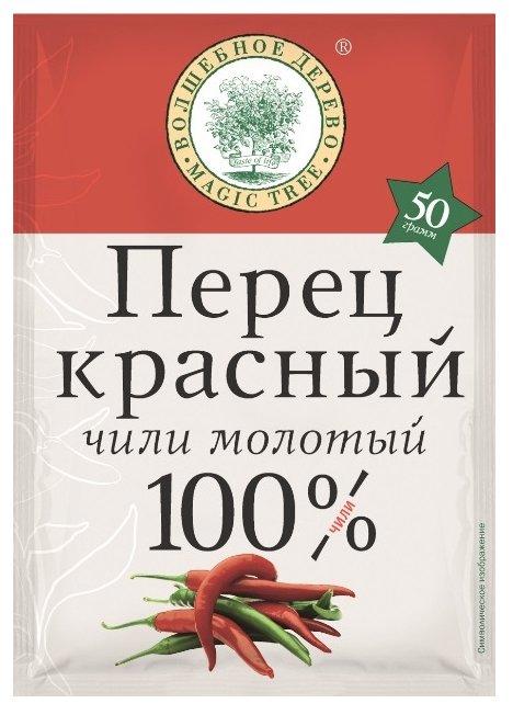 Волшебное дерево Пряность Перец красный чили молотый, 50 г