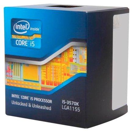 Процессор Intel Core i5-3570K Ivy Bridge (3400M... — купить по выгодной цене на Яндекс.Маркете