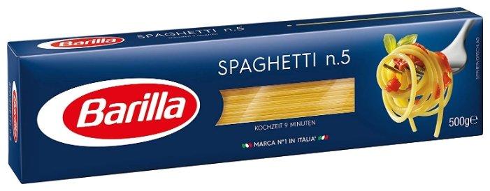 Barilla Макароны Spaghetti n.5, 500 г