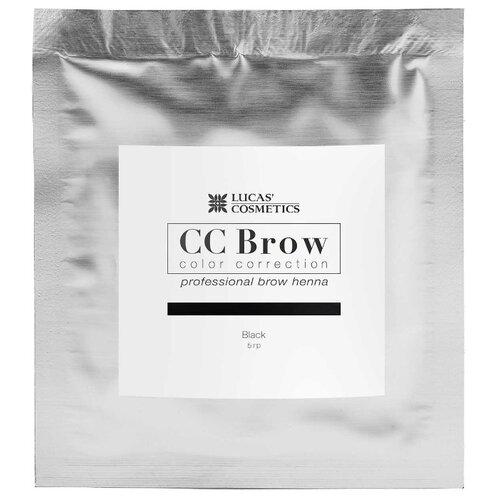 CC Brow Хна для бровей в саше 5 г black cc brow хна для бровей в саше 5 г black