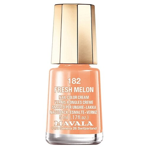 Купить Лак Mavala Nail Color Cream, 5 мл, 182 Fresh Melon