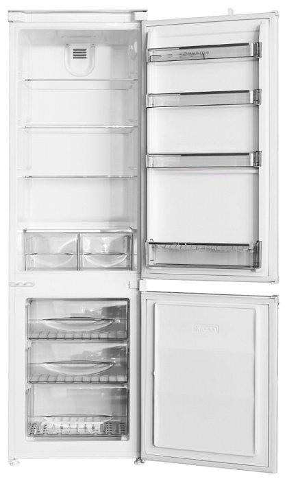 Встраиваемый холодильник MAUNFELD MBF 177BFW