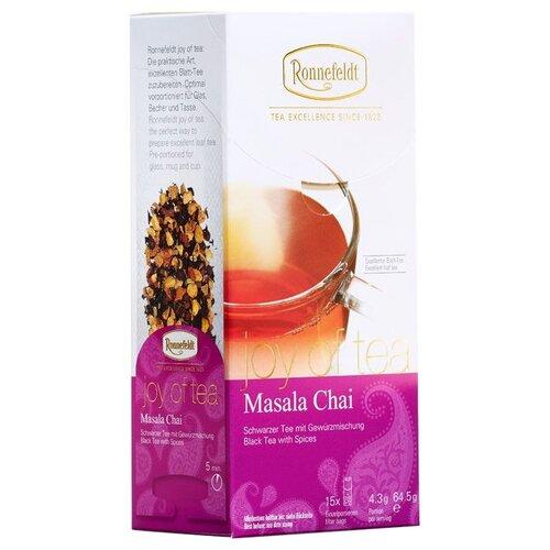 Чай черный Ronnefeldt Joy of Tea Masala chai в пакетиках, 15 шт.