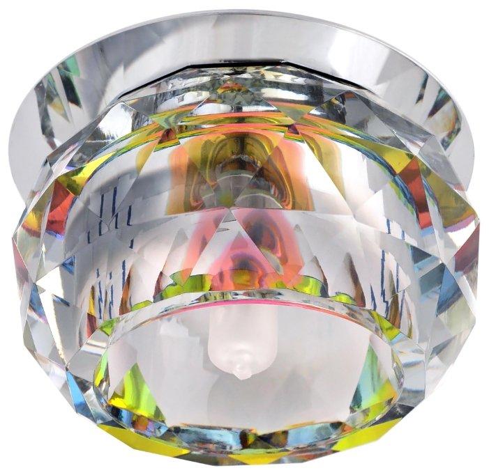Встраиваемый светильник De Fran FT 9260 r, серебро / радуга