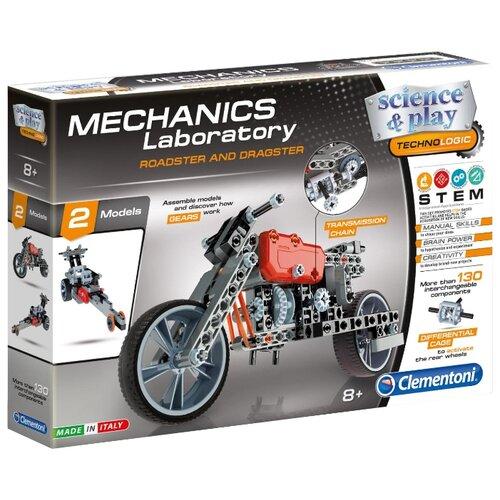 Купить Конструктор Clementoni Mechanics Laboratory 75014 Родстер и Драгстер, Конструкторы