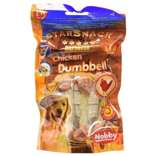 Лакомство для собак Nobby StarSnack Chicken Dumbbell гантельки куриные, 70 гЛакомства для собак<br>