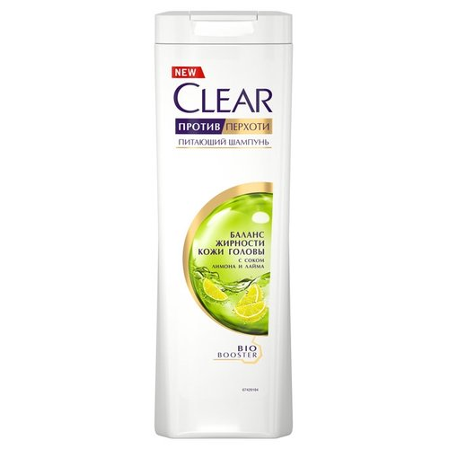 Clear шампунь против перхоти для женщин питающий Баланс жирности кожи головы 400 мл шампунь дав от перхоти для женщин