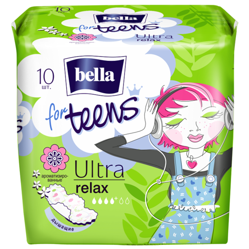 Bella прокладки for teens ultra relax deo fresh 10 шт. прокладки bella perfecta ultra violet deo fresh 10шт