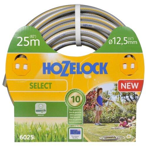 "Шланг HOZELOCK Select 1/2"" 25 метров серый/желтый"