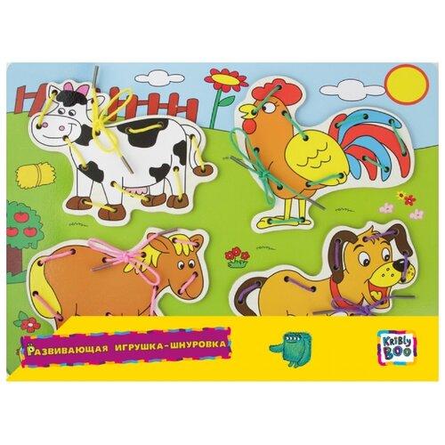 Шнуровка Kribly Boo Ферма (66435) boo cow