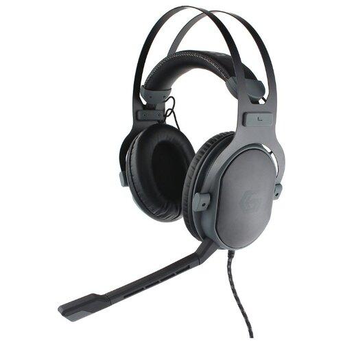 Компьютерная гарнитура Gembird MHS-G700U UNREAL черный недорого