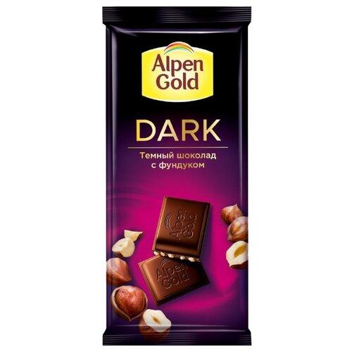 Шоколад Alpen Gold темный с фундуком, 85 гШоколадная плитка<br>