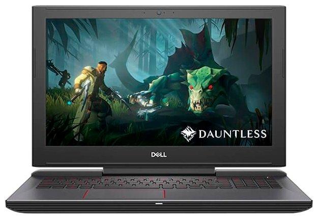 "Ноутбук DELL G5 15 5587 (Intel Core i5 8300H 2300 MHz/15.6""/1920x1080/8GB/1008GB HDD+SSD Cache/DVD нет/NVIDIA GeForce GTX 1050/Wi-Fi/Bluetooth/Linux)"