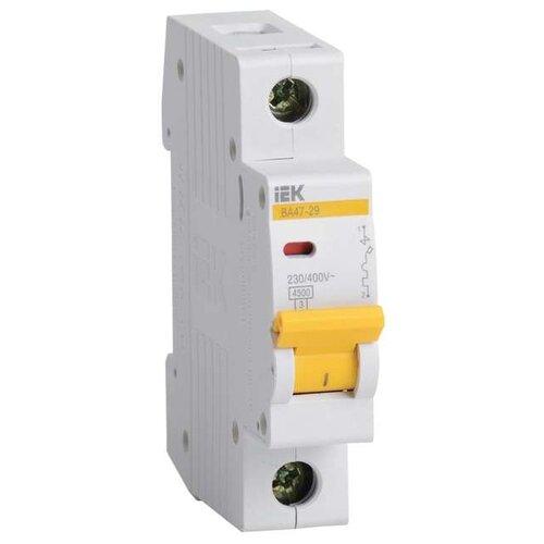 Автоматический выключатель IEK ВА 47-29 1P (C) 4,5kA 4 А автоматический выключатель эра ва 47 29 1p c 4 5ka 16 а