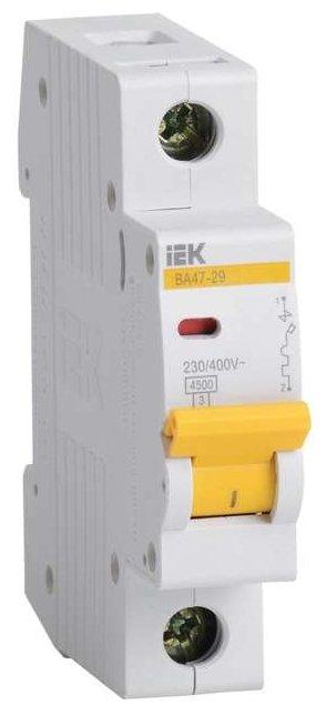 Автоматический выключатель IEK ВА 47-29 1P (C) 4,5kA