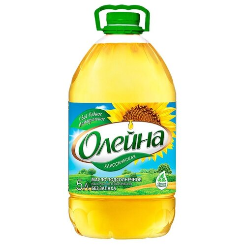 Олейна Масло подсолнечное Классическое 5 л