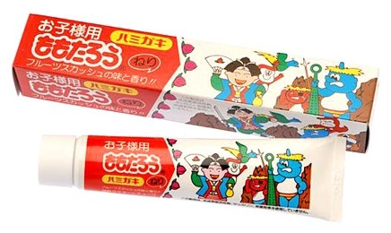Зубная паста Fudo Kagaku Момотаро отбеливающая с ароматом