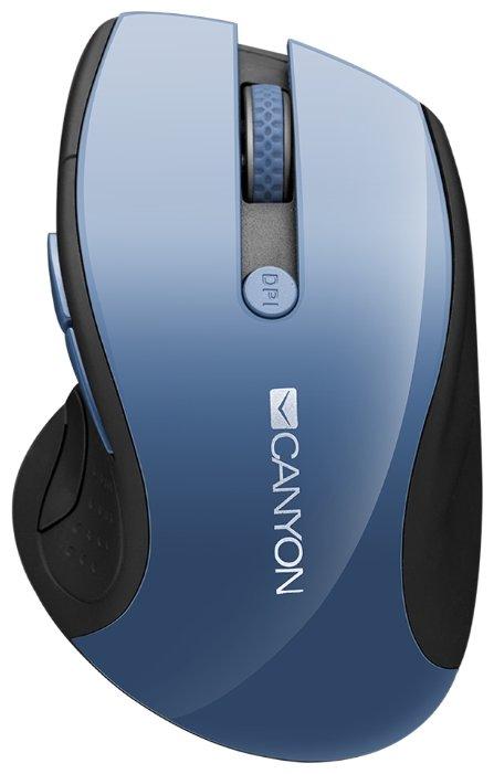 Купить <b>Мышь Canyon CNS</b>-<b>CMSW01BL</b> Blue USB по выгодной ...