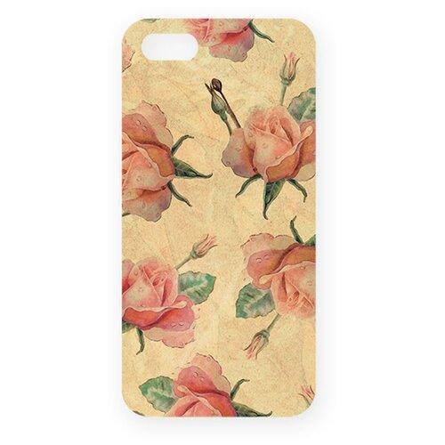 Чехол Mitya Veselkov IP5.МITYA-074 для Apple iPhone 5/iPhone 5S/iPhone SE нежные розыЧехлы<br>