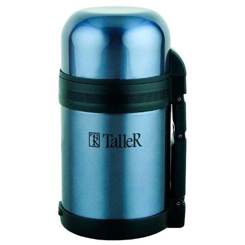Классический термос Taller Джеральд, 0.8 л синий