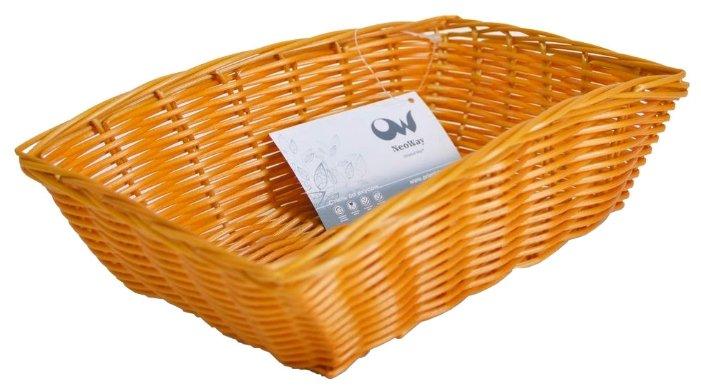 Корзинка для хлеба Oriental Way Мульти MJ-PP010BR коричневый