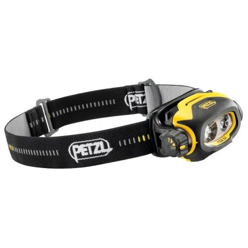 Налобный фонарь Petzl Pixa 3R черный/желтый крюк скальный petzl petzl v conique 11 см 11cm