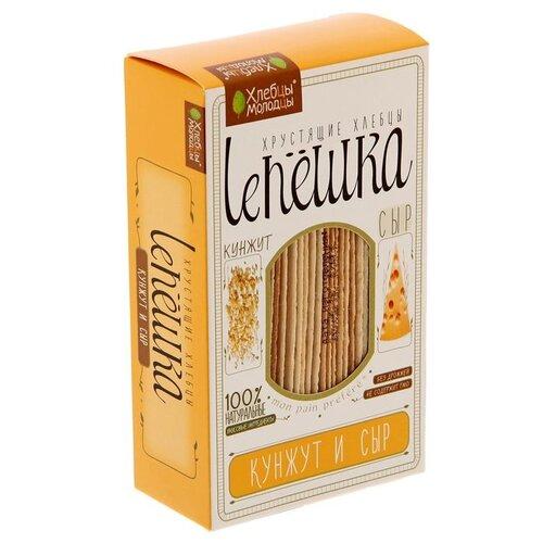 Хлебцы пшеничные Хлебцы-молодцы Leпёшка с кунжутом и сыром 150 гХлебцы, сухарики<br>