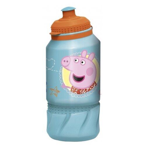 Бутылка для воды, для безалкогольных напитков Stor спортивная 0.42 пластик Свинка Пеппа