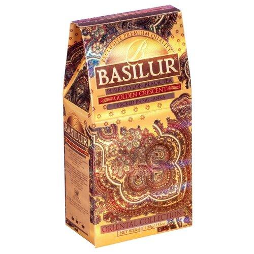 Чай черный Basilur Oriental collection Golden crescent, 100 г basilur orient delight черный листовой чай 100 г