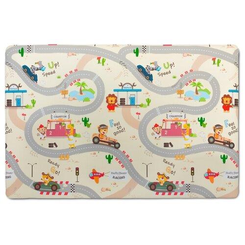 Купить Коврик Parklon Green Soft Дороги/Киты (SM-932-MX-RCLW), Игровые коврики