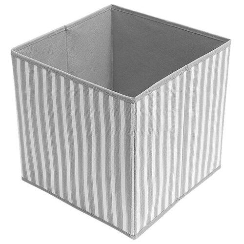 Tatkraft Коробка для хранения Key 28х28х28 cm серый