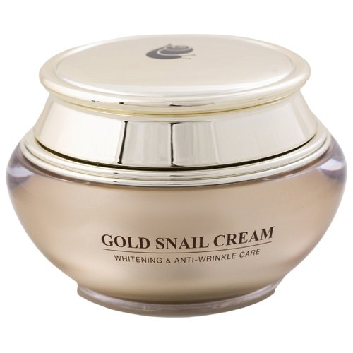 Gold Energy Snail Synergy GOLD SNAIL CREAM Whitening & Anti-Wrinkle Care Крем для лица отбеливающий против морщин, 50 мл