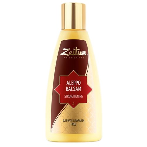 Zeitun бальзам Aleppo Strengthening №4 укрепляющий для всех типов волос, 150 мл holy land calm red nighttime strengthening balm укрепляющий бальзам 50 мл