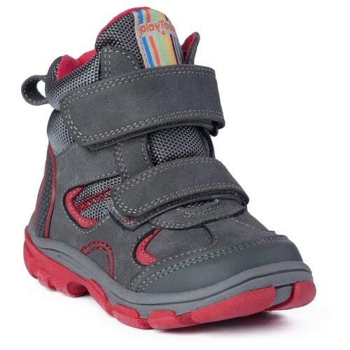 Ботинки playToday размер 22, темно-синий/красныйОбувь для малышей<br>
