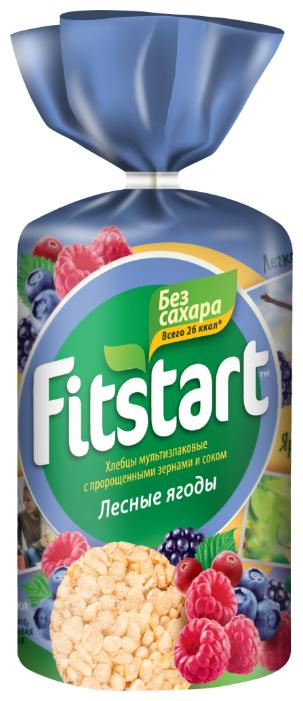 Хлебцы мультизлаковые Fitstart Лесные ягоды, 100 г
