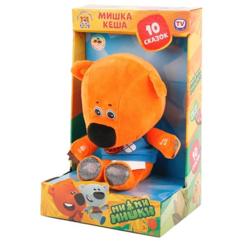 Купить Мягкая игрушка Мульти-Пульти Ми-ми-мишки Медвежонок Кеша 25 см в коробке 10 сказок, Мягкие игрушки