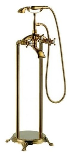 Двухрычажный смеситель Gemy G9030-A gold