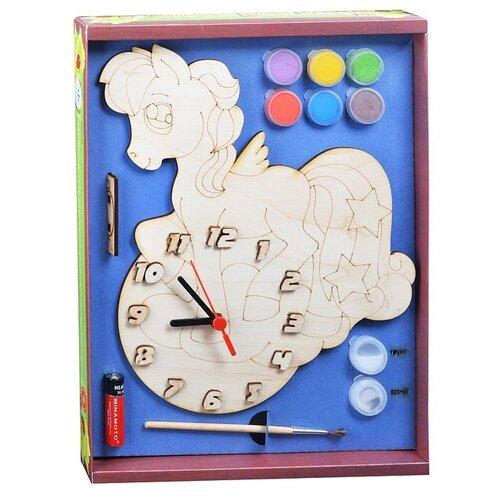 Нескучные игры Набор для росписи Часы с циферблатом Пони (ДНИ7818) нескучные игры набор для росписи часы с циферблатом домик дни113