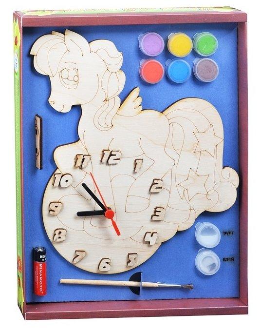Нескучные игры Набор для росписи Часы с циферблатом Пони (ДНИ7818)