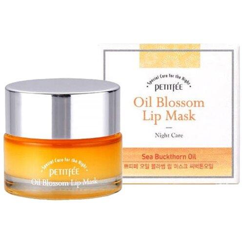 Petitfee Маска для губ ночная с маслом облепихи маска для губ с витамином е и маслом облепихи oil blossom lip mask petitfee 15 гр