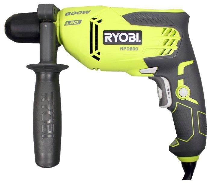 Дрель ударная RYOBI RPD800K 800 Вт