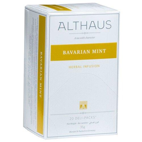 Чайный напиток травяной Althaus Bavarian Mint в пакетиках, 20 шт.Чай<br>