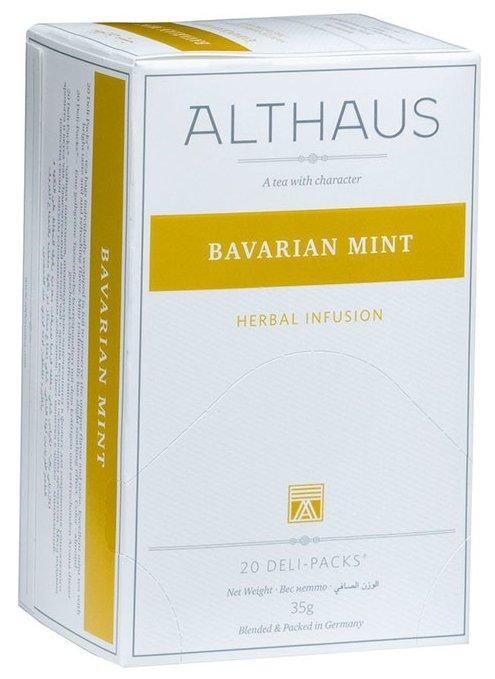 Чайный напиток травяной Althaus Bavarian Mint в пакетиках