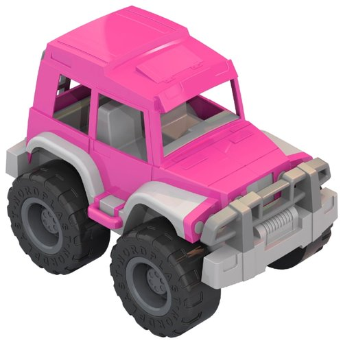 Купить Внедорожник Нордпласт Джип Леди (228) 32.5 см розовый/серый, Машинки и техника