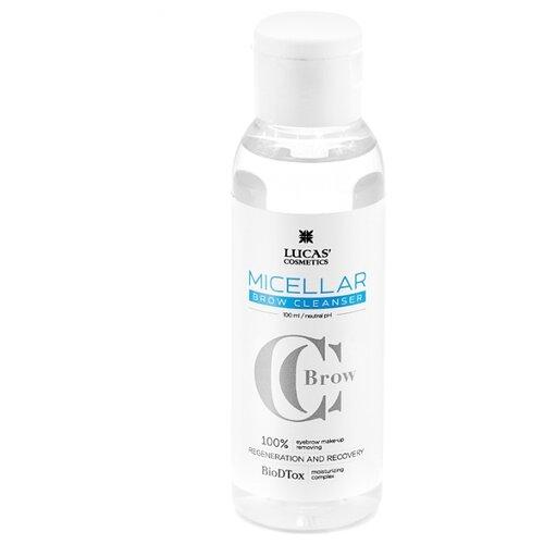 CC Brow Мицеллярная вода для бровей Micellar Brow Cleanser, 100 мл недорого