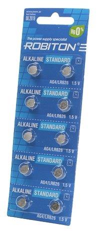 Батарейка ROBITON Alkaline Standart AG4/LR626