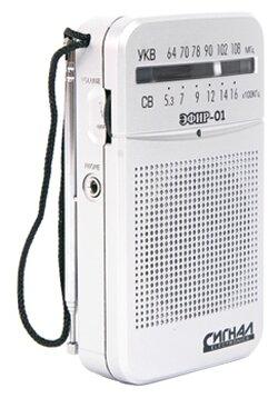 Купить Радиоприемник ЭФИР 01 белый по низкой цене с доставкой из Яндекс.Маркета (бывший Беру)